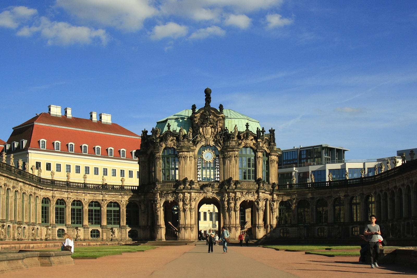 Der Dresdner Zwinger (Foto: Daniela Hofmann)
