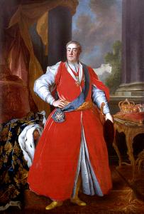 August III., König von Polen 1734 – 1763 in polnischer Tracht