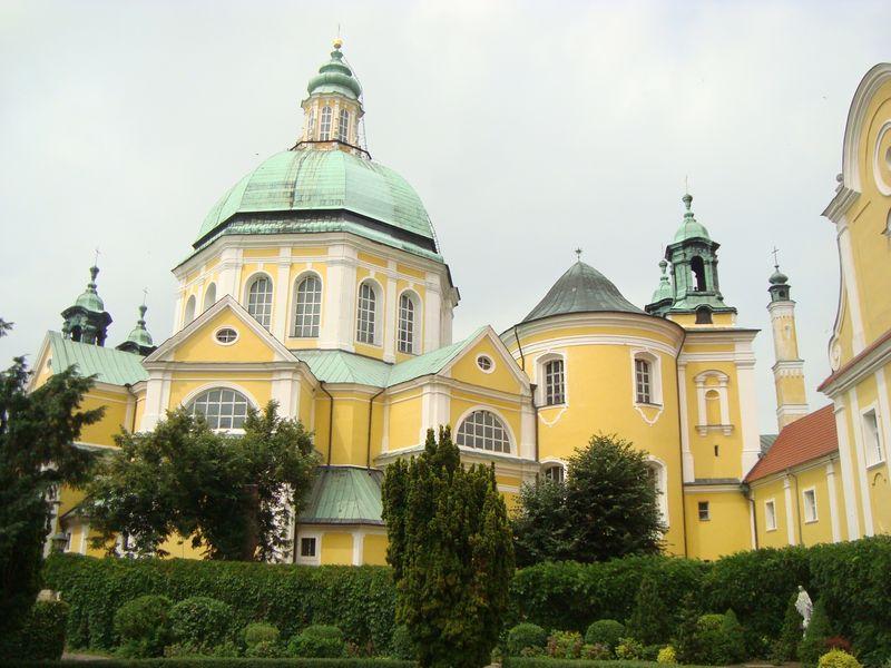 Basilika auf dem heiligen Berg in Gostyń