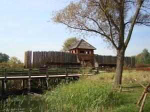 Kalisz- die Piastenburg im Stadtteil Zawodzie