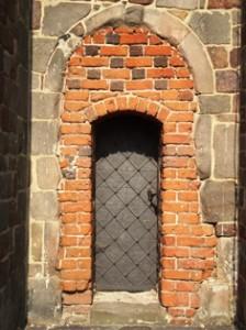 Tum, Tür in der Westfassade