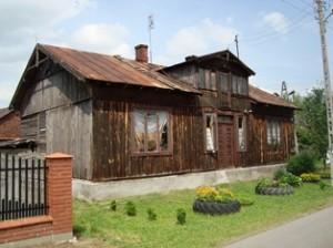 Altes Bauernhaus in der Nähe von Łowicz