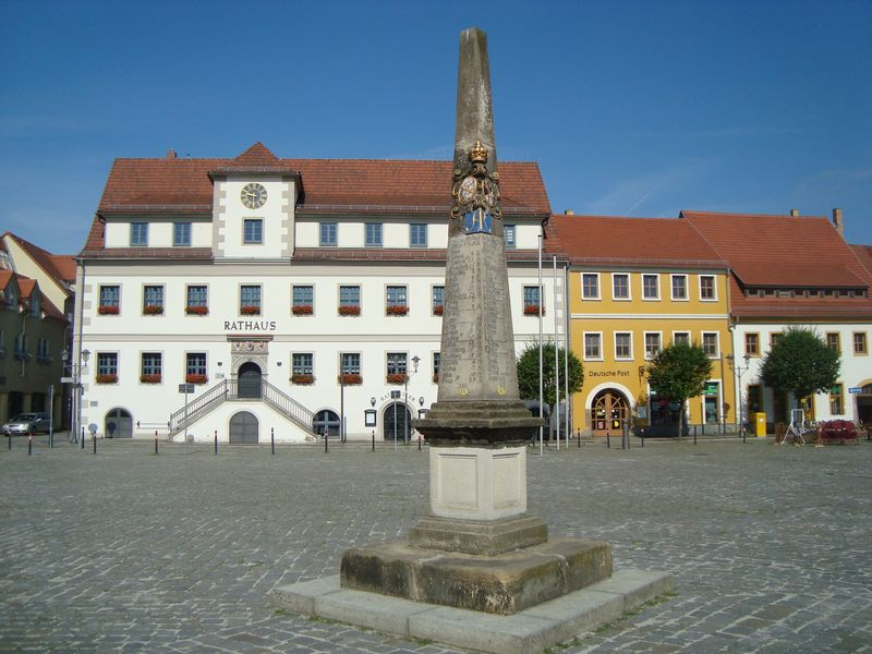 Marktplatz in Hoyerswerda