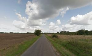 Landschaft bei Mieszków (Quelle: google streetview)
