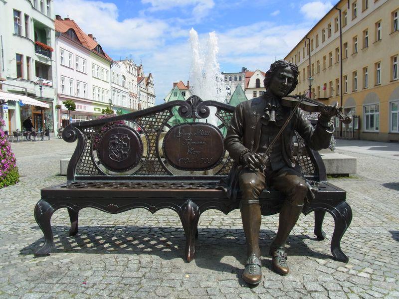 Telemanndenkmal in Żary