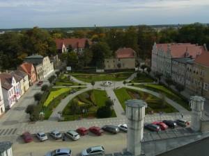 Rynek, im Hintergrund das Königsschloss