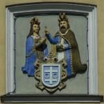 Wschowa, Wappen am Rathaus