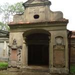 Barockes Grabmal auf dem ehem. ev. Friedhof