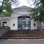 Eingang zum evang. Friedhof