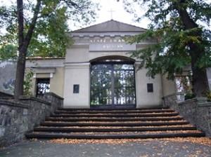 Brama wejściowa cmentarza ewangelickiego