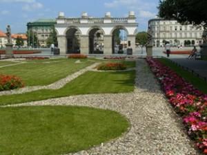 Sächischer Garten in Warschau