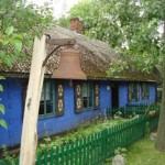 Bauernhaus im Regionalmuseum Łowicz