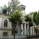 ehem. evang. Kirche Łowicz, heute Galerie