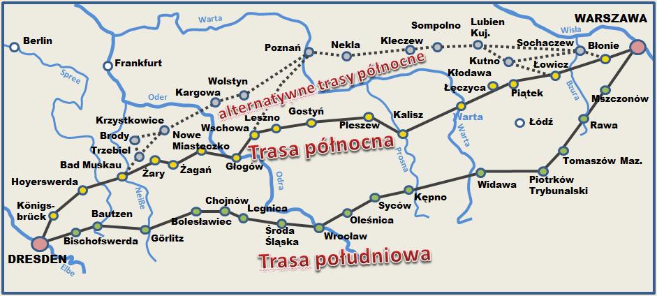 trasy ppt