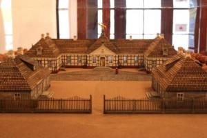 Modell des Postpalais